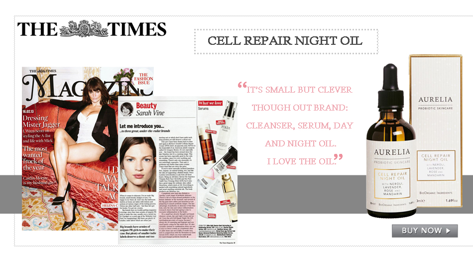 The Times_Aurelia Skincare